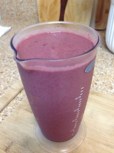 Power Smoothie with Beets, Chia, and Ginger