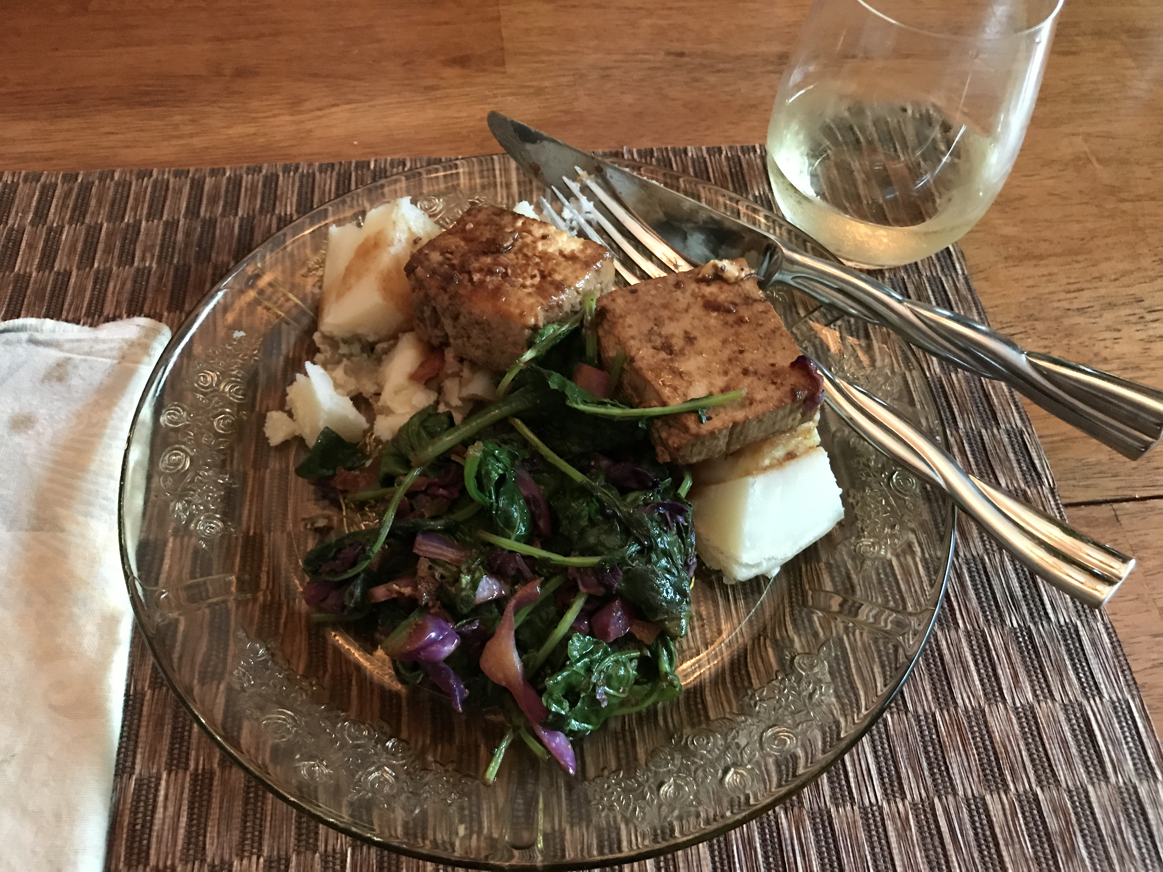 Sautéed Tofu and Greens - Get Cooking Healthy!