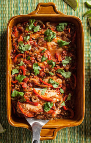 Mexican Baked Tilapia