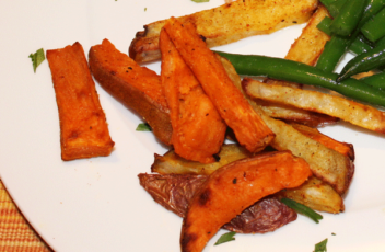 Healthy Mixed French Fries