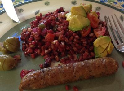 10 Minute Farro Salad